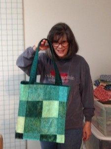 First Quilted Tote